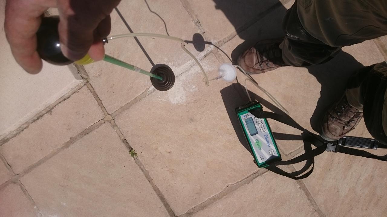 test gaz traceur saint remy de provence