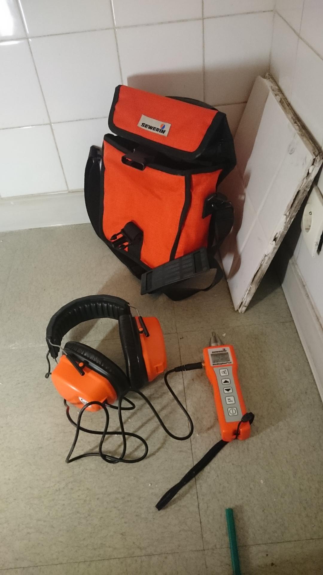 detecteur de fuite electro acoustique sewerin