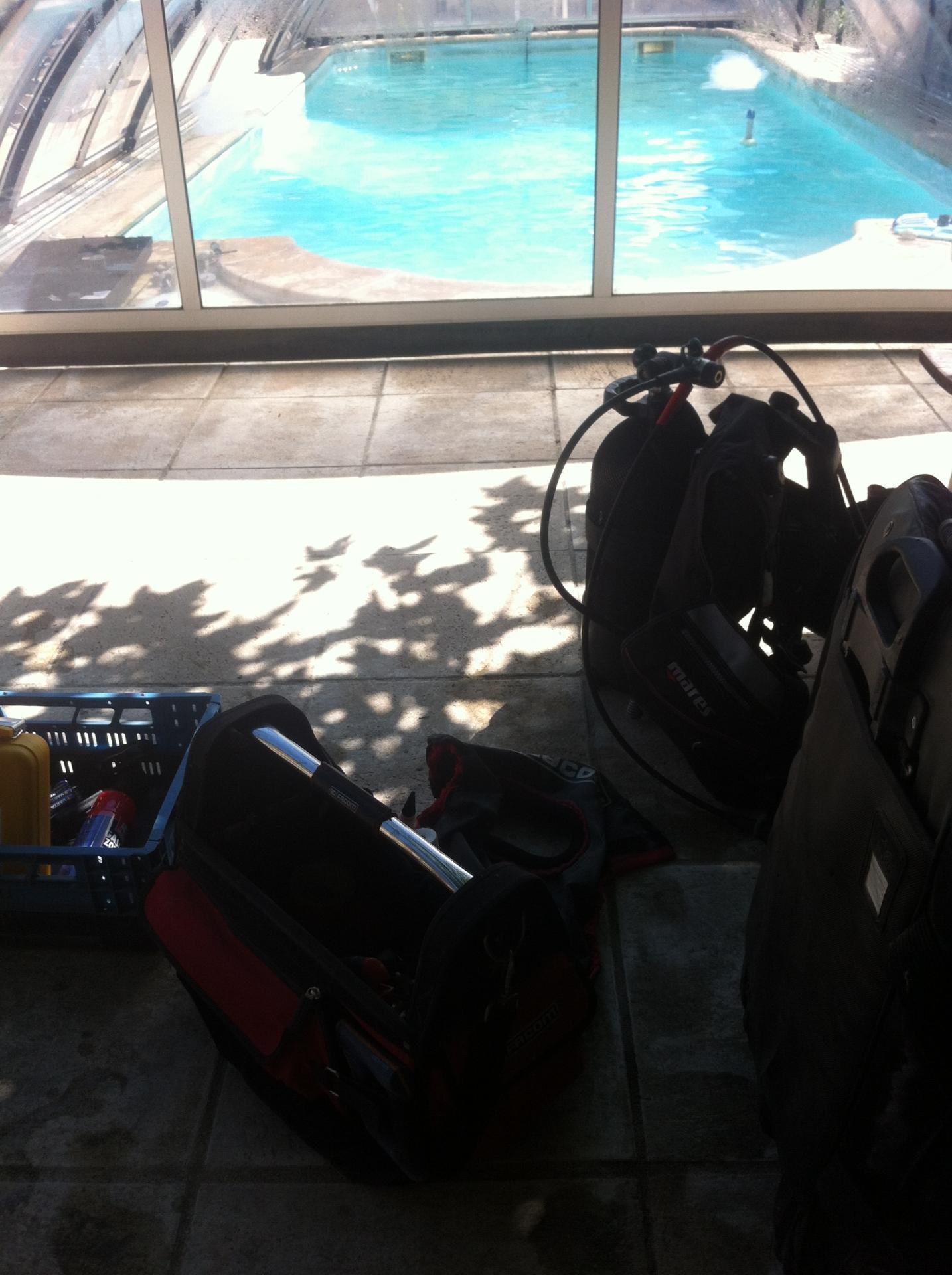 Materiel recherche de fuite piscine